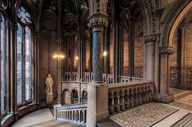 gothic interior neo gothic interior one of the many neo gothic staircases flickr