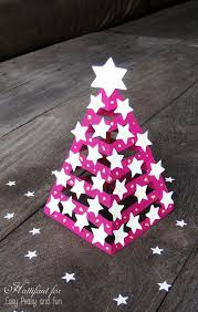 glow in the 3d paper tree easy peasy and