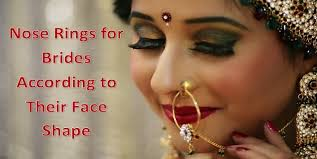 beautiful nose rings images Beautiful nose rings for brides according to their face shape jpg