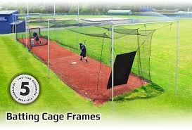 jugs sports baseball u0026 softball batting cage frames