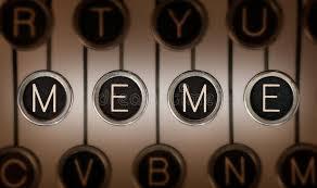Typewriter Meme - old school meme stock photo image of trendy information 30328026