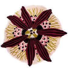 buy missoni home botanica round rug t01 blue 110cm dia amara