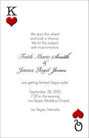 vegas wedding invitations las vegas wedding invitations