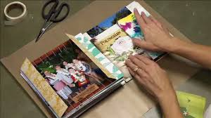 creative photo albums mini books paperclipping