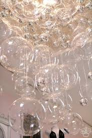 Glass Balls Chandelier Diy Bubble Chandelier Popsugar Home