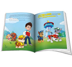 paw patrol personalized book