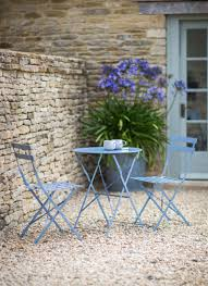 Garden Bistro Table Finished In Or Lovely Dorset Blue Our Bistro Set Table 2 Chairs