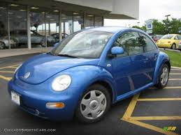 volkswagen buggy blue 1999 volkswagen new beetle gls coupe in bright blue metallic