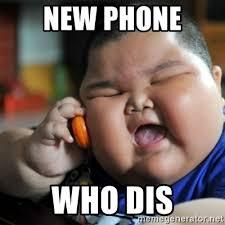 New Phone Meme - new phone who dis fat chinese kid meme generator