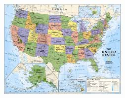 World Wall Map by National Geographic Maps Kids Political Usa Wall Map Grades 4 12