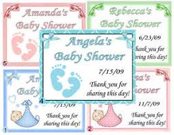 personalized baby shower favors 15 personalized baby shower favors magnets ebay
