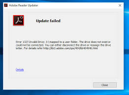 error 1327 invalid drive while installing or updating adobe community all content installing updating subscribing