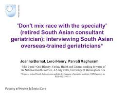 age as professional and personal transition uk and south asia