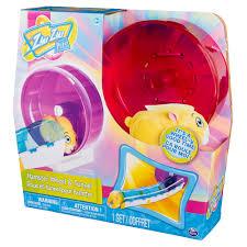 zhu zhu pets hamster wheel tunnel playset toys