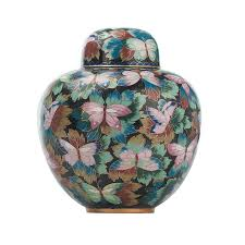 butterfly urn buy cloisonne butterfly garden urn online