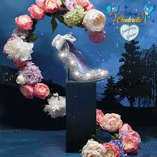 cinderella light up shoes size 7 8 have your very own cinderella moment with our magical sparkling