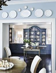 tour a luxurious and bright southern home blue and white blue