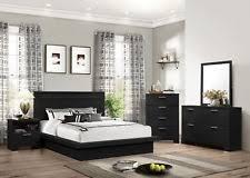 wood veneer bedroom furniture sets with 4 pieces ebay