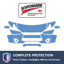 3m Mitsubishi Rvr 2011 2016 Clear Bra Precut Paint Protection Film