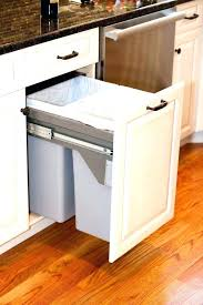 under sink trash pull out under sink trash can with lid cabinet trash can cabinet trash can