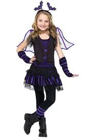 kids betty belfry costume bat fancy dress for halloween
