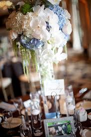 blue floral centerpieces bitsy bride