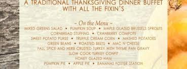 a thanksgiving dinner by aqua ta fl nov 28 2013 11 00 am
