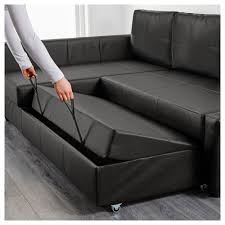 Corner Lounge With Sofa Bed Chaise by Friheten Corner Sofa Bed With Storage Bomstad Black Ikea