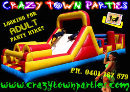 party hire jumping castles jelly wrestling sumos mechanical