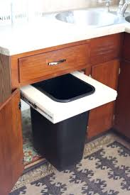 large kitchen trash cans with lids trash can recycling bin combo
