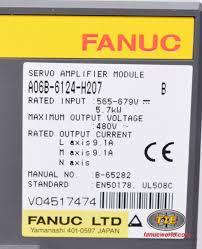 fanuc a06b 6124 h207 or a06b6124h207 ac servo drive fanucworld