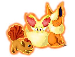 pokemon u0027s fire foxes by estefanoida on deviantart