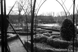 the garden walled garden cowdray midhurst west sussex