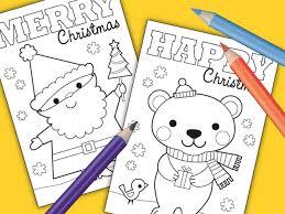 honey jumble free printable colour christmas cards