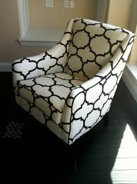Windsor Smith Home by Windsor Smith Riad Print Upholstered Chair Courtesy Of Courtney