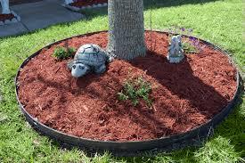 red mulch ideas garden ideas