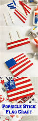 popsicle stick flag craft patriotic crafts flags and craft