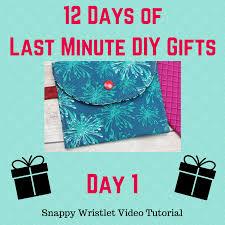 12 days of last minute diy gifts free tutorials crafty gemini