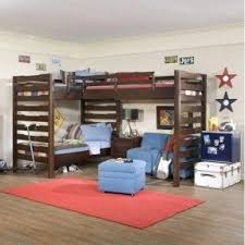 Woodworking Plans For L Shaped Bunk Beds by L Shaped Loft Bunk Beds Foter