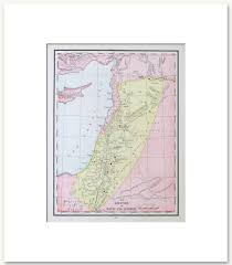 Biblical Maps Bible History Vintage Maps