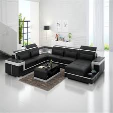livingroom furnitures u shaped livingroom furniture leather sofa set nofran electronics