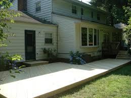 home design backyard deck ideas ground level deck kids backyard