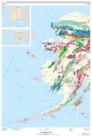 us map alaska usgs researchers reveal digital geologic map of alaska