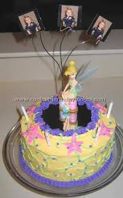 tinkerbell birthday cakes coolest tinkerbell cake ideas and photos