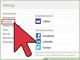Yahoo Sign In How To Change Your Yahoo Sign In Settings 8 Steps With Pictures