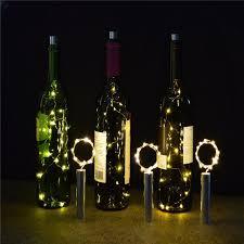 15leds bright white bottle light kit fairy lights battery top