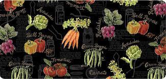 Vegetable Kitchen Rugs Decorative Kitchen Floor Mats Stain Proof