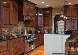 slate kitchen backsplash kitchen backsplash brown cabinets pizzle me