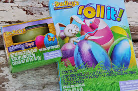 Easter Decorations Instructions by Lille Punkin U0027 Use Plastic Eggs For No Break Roll Dyed Easter
