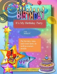 invitation flyer templates free birthday invitation flyer template birthday flyer invitation